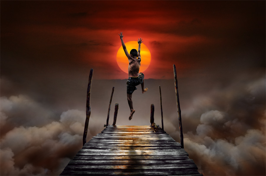 Reaching The Sun by Ahay Gart - Digital Art People