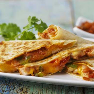 Chicken and Cheese Quesadillas Recipe