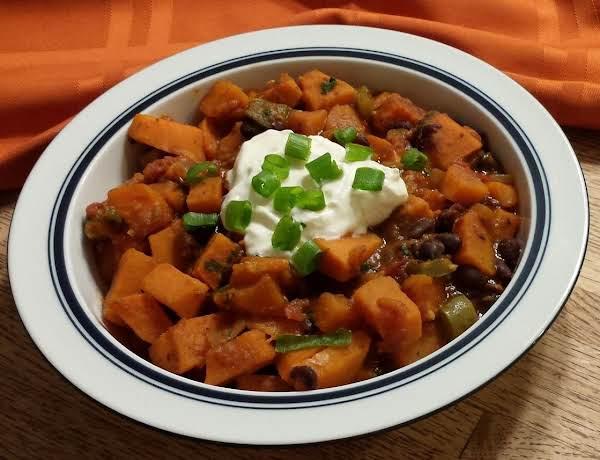 Sweet Potato & Black Bean Chili Recipe
