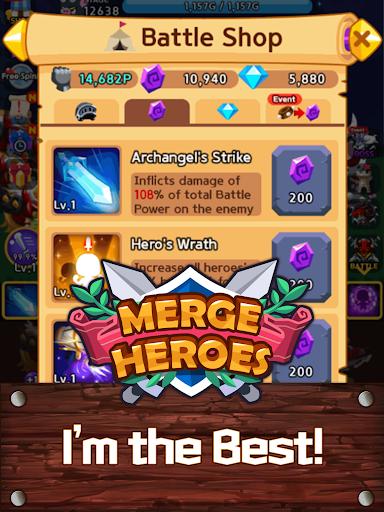Merge Heroes Frontier: Casual RPG Online screenshots apkshin 14
