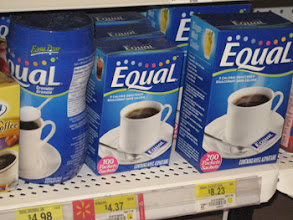 Photo: We were in the pharmacy for another reason and found more Equal!