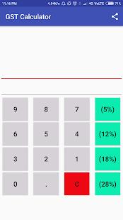 GST Calculator - náhled