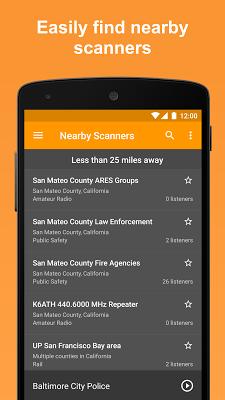 Scanner Radio: Police, Fire, and Air Traffic - screenshot