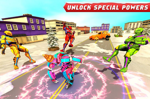 Ice Cream Robot Truck Game - Robot Transformation filehippodl screenshot 1