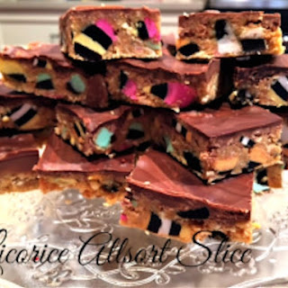 Licorice Allsorts Slice Recipe