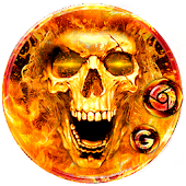 Scary Fire Skull Launcher Theme Live HD Wallpapers Android APK Download Free By Best Launcher Theme & Wallpapers Team 2019