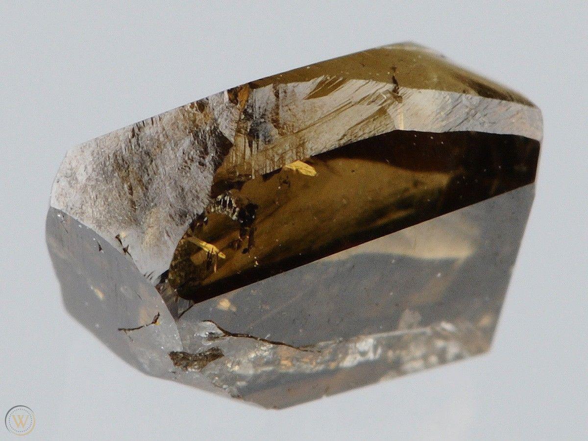 A rough cognac diamond