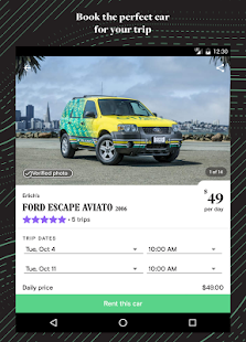 Turo - Rent Better Cars- screenshot thumbnail