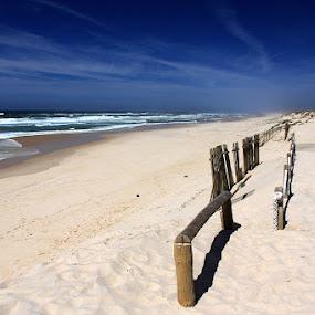 Pedrógão by Gil Reis - Landscapes Beaches ( clouds, water, beaches, sand, nature, sea, leiria, portugal )