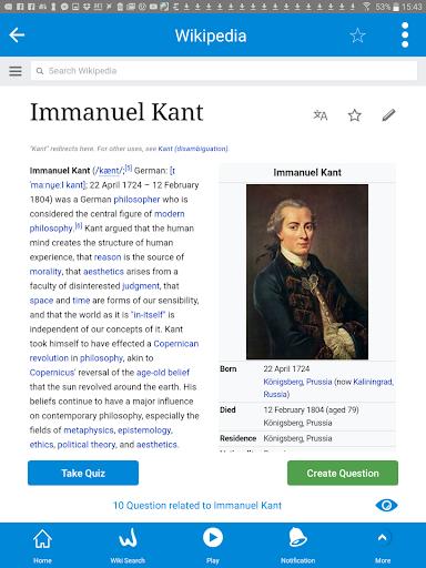 WikiMaster- Quiz to Wikipedia screenshot 9