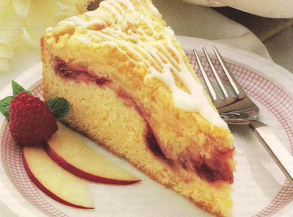 Swiss Almond Apple Cake