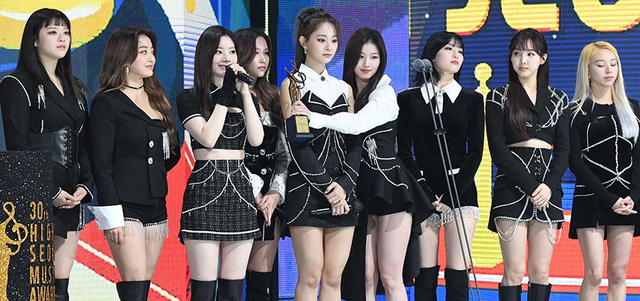 [포토] 트와이스, '서울가요대상' 본상 수상