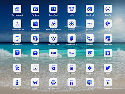 Azer Blue Icon Pack screenshot 9
