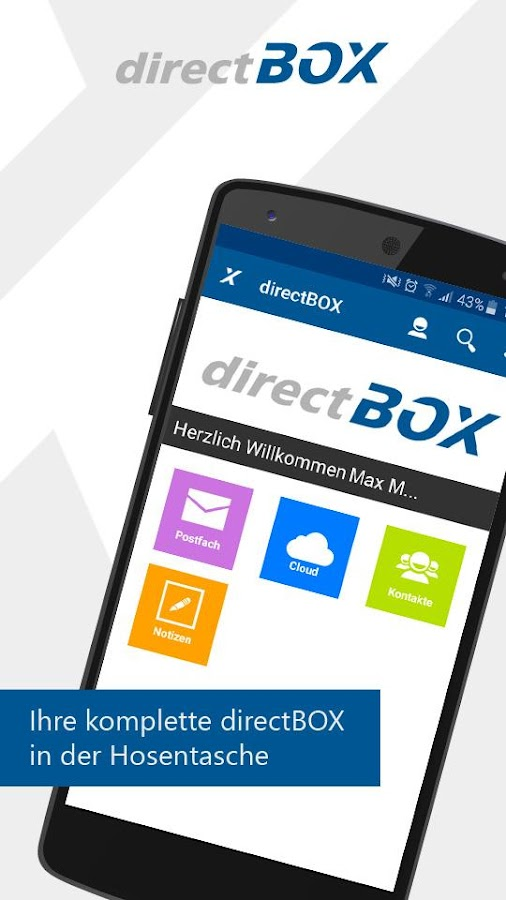 directBOX- screenshot