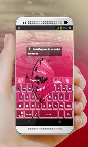 Pink Feline GO Keyboard
