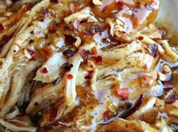 Crockpot Sweet Garlic Chicken