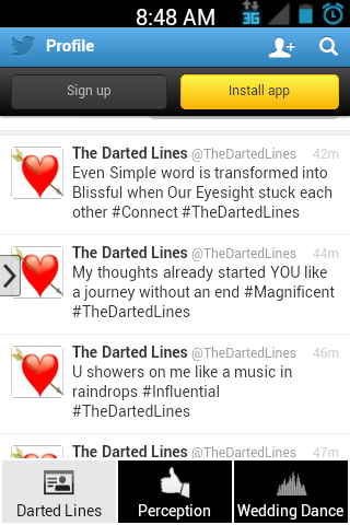The Darted Lines