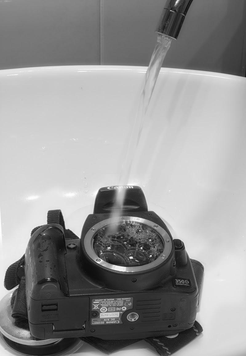 Lavaggio sensore di nidinola