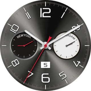 WorldClockWatchface APK screenshot thumbnail 2