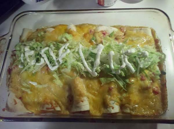 Chicken And Cheese Enchiladas Recipe