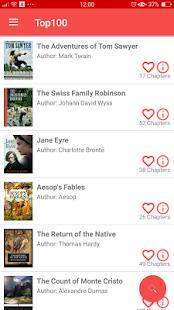 AudioBooks Free - náhled
