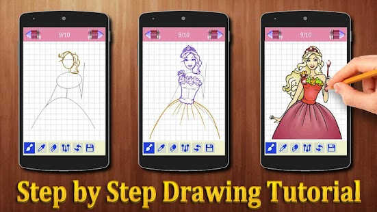 How to Draw Princess Barbie - náhled