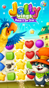 Jolly Wings: Match 3 For Free - screenshot