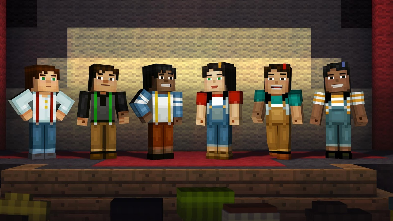 Minecraft: Story Mode: captura de tela