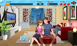 screenshot of Lover kiss - Drawing Room Darling Kiss