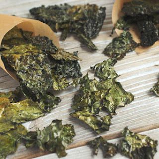Salt and Vinegar Kale Chips.