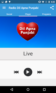 Radio Dil Apna Punjabi- screenshot thumbnail