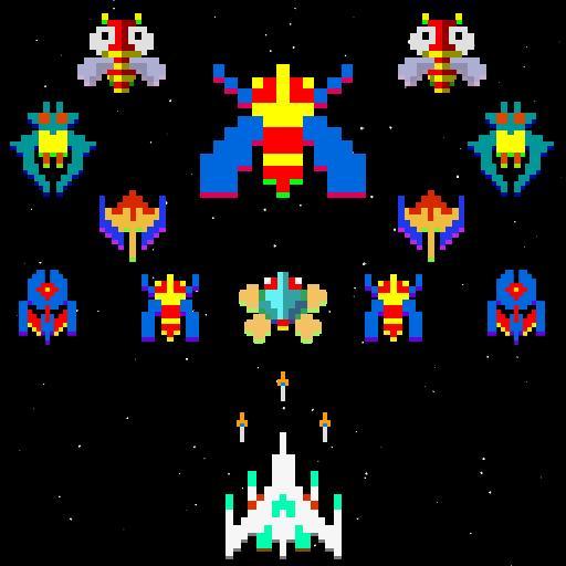 Galatic Attack - Space Galaxa