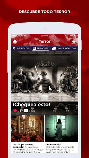 Terror Amino en Espau00f1ol 2.2.27032 screenshots 2
