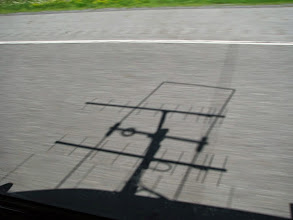 Photo: K8GP / Rover - V/UHF antenna shadow