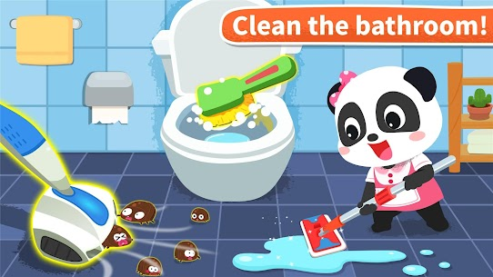 Baby Panda' s House Cleaning MOD (Unlimited Money) 5