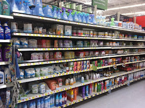 Photo: The air freshener section is HUGE.
