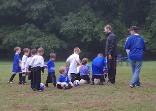 Photo: Thane's soccer team, the Gunnars. With Ian and Alexander.
