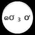 かおもじこ icon