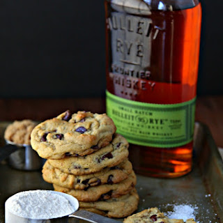 Whiskey Brown Butter Chocolate Chip Cookies.