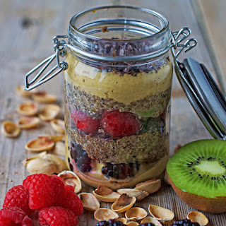 Chia Yoghurt Parfait with Cacao Nibs Recipe