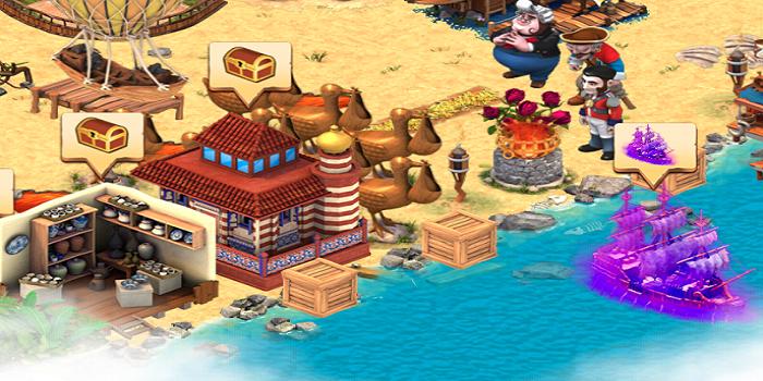 Shipwrecked: Volcano Island apk screenshot
