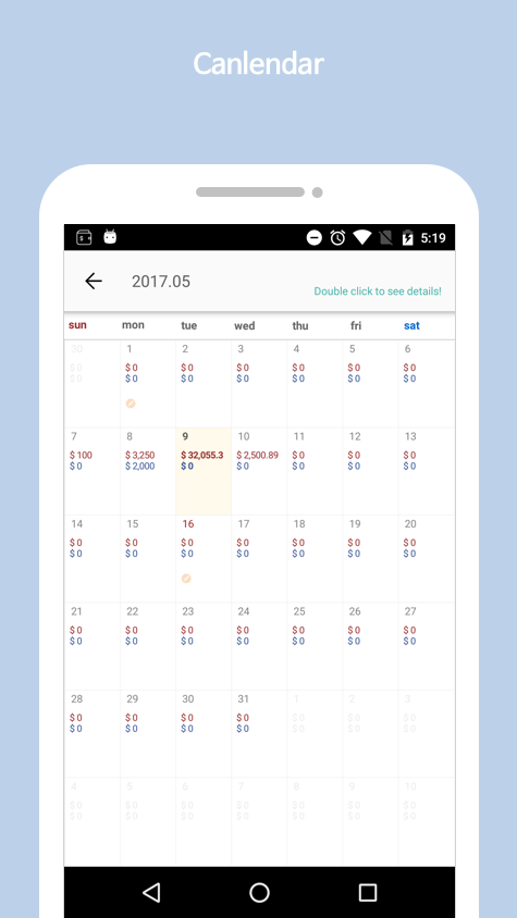 DayDay - Alarm,Diary,Wallet,To-do- screenshot