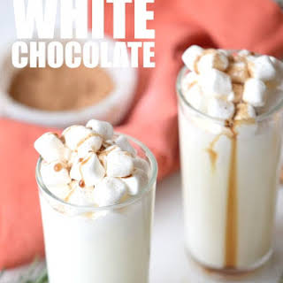 Slow Cooker White Hot Chocolate.