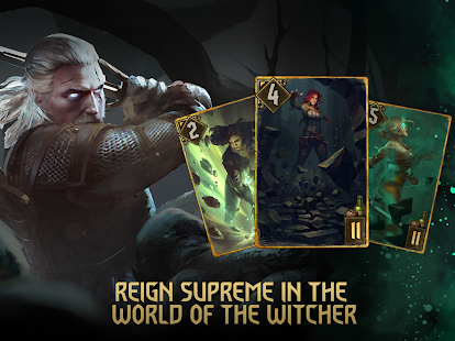 Game GWENT: The Witcher Card Game 6.3 APK for iPhone