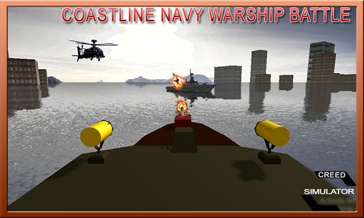 Coastline Navy Warship Battleship Fleet Simulator 1.0.1 10