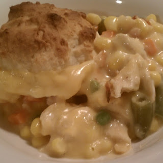 Chicken & Biscuits Casserole