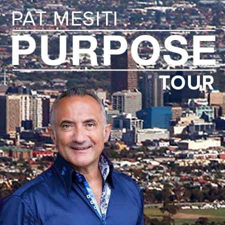 Pat Mesiti Purpose Tour Adelaide