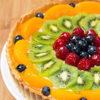 Custard Tart With Fruit Recipes.