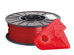 Translucent Red PRO Series PLA Filament - 1.75mm (1kg)