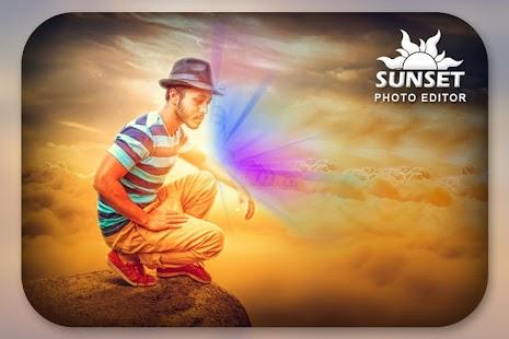 Sunset Photo Editor - náhled